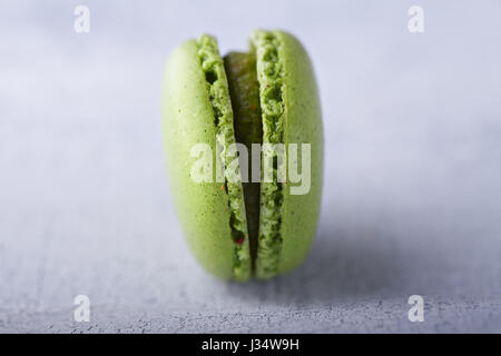 French Almond cookies macaroons - Stock Photo