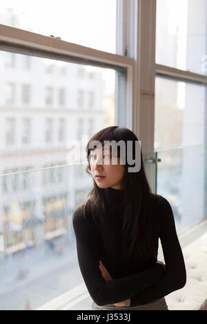 Portrait of a professional young businesswoman - Stock Photo