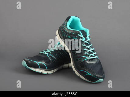 Indian Made Men's Sport shoes - Stock Photo
