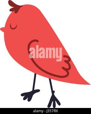 Cute birdie cartoon
