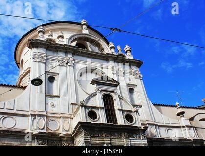 Brescia - The church Chiesa di Santa Maria dei Miracoli - Stock Photo