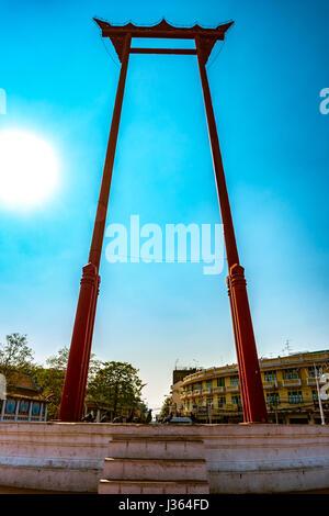 Bangkok Thailand Brahmin Swing Stock Photo, Royalty Free Image: 122817958 - A...