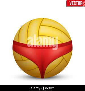 Beach Volleyball symbol. - Stock Photo