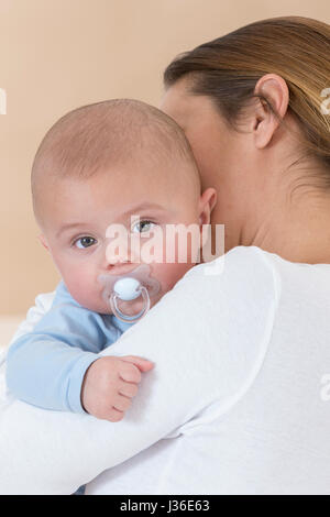 MOTHER & INFANT - Stock Photo