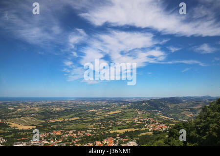 A landscape from San Marino hills - Stock Photo