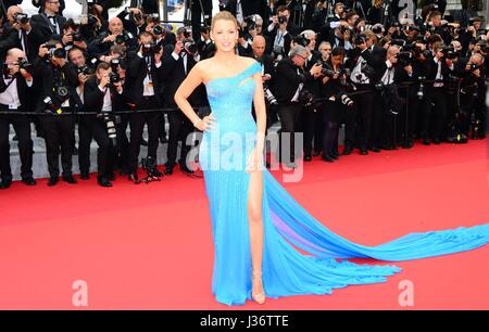 Blake Lively  Arriving on the red carpet for the film 'The BFG'  69th Cannes Film Festival  May 14, 2016 - Stock Photo