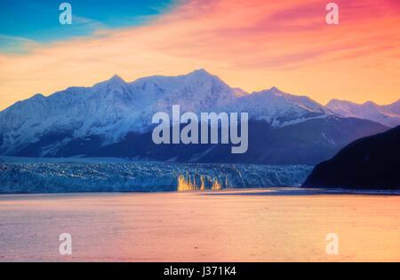 United States of America Alaska Glacier - Stock Photo