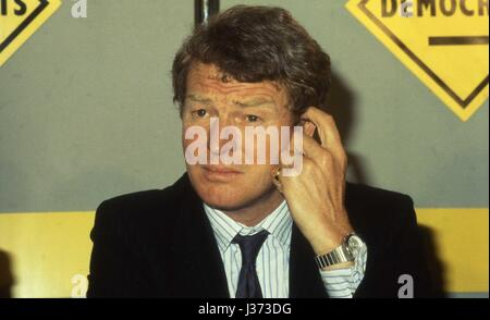 Rt. Hon. Paddy Ashdown, Leader of the Social and Liberal Democrat party and Member of Parliament for Yeovil, attends - Stock Photo