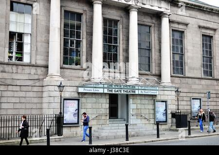 The Gate Theatre in Dublin, established in 1786 as the The Assembly Rooms, was converted into a theatre venue in - Stock Photo