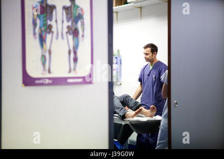 MOUNTAIN DOCTOR - Stock Photo