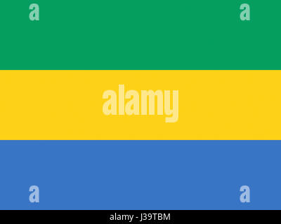 Gabon flag official national symbol of gabonese republic stock illustration of the national flag of gabon stock photo sciox Gallery