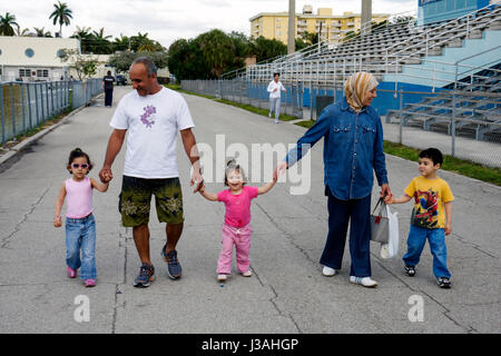 Miami Beach Florida Flamingo Park Swimming Pool Public Boy Boys Child Stock Photo 139866889 Alamy
