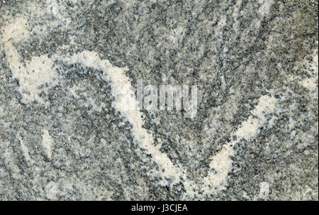 Quartz vein in a metamorphic rock - Stock Photo