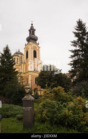 Serbian Orthodox Cathedral, Sarajevo, Bosnia and Herzegovina, Eastern Europe. - Stock Photo