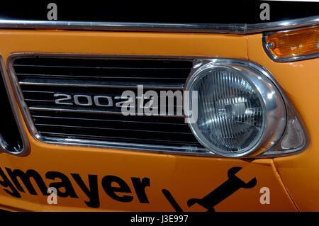 Bmw 2002 Tii Race Car >> Old BMW classic car 2002 Stock Photo, Royalty Free Image: 29877873 - Alamy