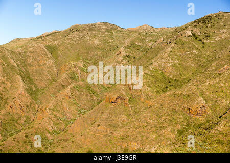 Mountain range in Tenerife, Spain - Stock Photo