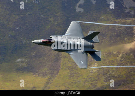 Lockheed Martin F-35A Lightning II 34th Fighter Squadron 388th Fighter Wing, Hill Air Force Base Utah - Stock Photo