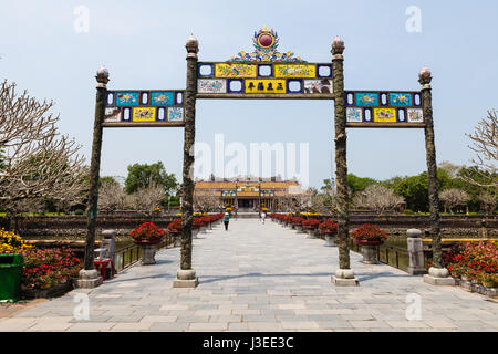 Hoi An, Vietnam - march 10 2017: Imperial Citadel (Imperial City), Hue, Vietnam - Stock Photo