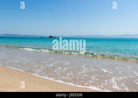 Beautiful sea in Sithonia, Greece - Stock Photo