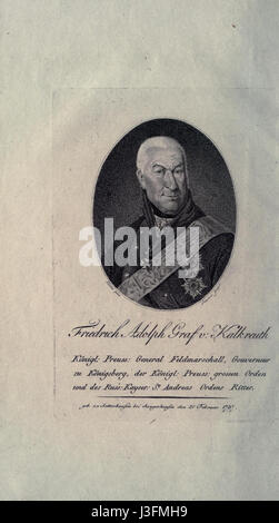 Friedrich Adolf Graf von Kalckreuth - Stock Photo