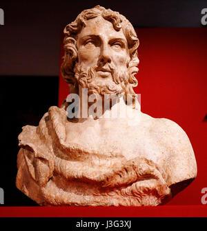 Fano: Show Renaissance secret: St. John the Baptist: Giovan Francesco Rustici. About 1500 - Stock Photo