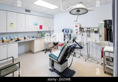 Hospital Exam Room - Stock Photo