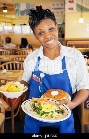 Miami Beach Florida North Beach Collins Avenue International House of Pancakes IHOP franchise restaurant food service - Stock Photo