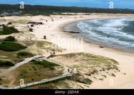 Beach in Jose Ignacio, Punta del Este, Uruguay - Stock Photo