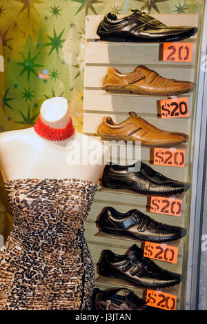 ... Miami Beach Florida Washington Avenue retail window display store small  business shop shopping boutique clothes - 608139086da0c
