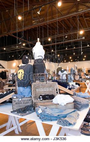 Brandy Melville, boutique, 2719 Mission Blvd, Pacific Beach, San Diego, California, USA - Stock Photo