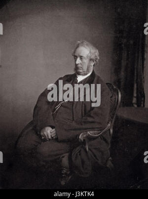 Hugh Welch Diamond, photo by Henry Peach Robinson, 1869 - Stock Photo