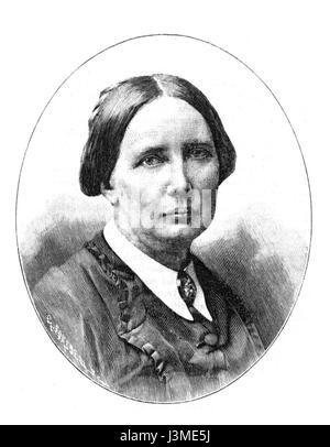 Hilma Zander Idun 1894, nr 10 - Stock Photo