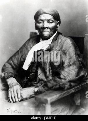 Harriet Tubman portrait photo - Stock Photo