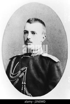 Grand Duke Sergei Mikhailovich young - Stock Photo