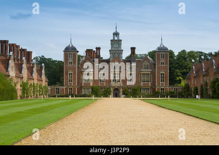 Summer day at Blickling Hall - Stock Photo