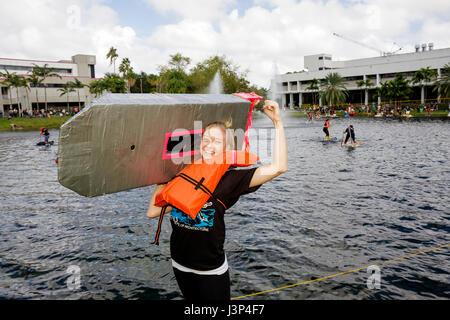 FIU School Of Architecture Miami Florida Stock Photo Royalty
