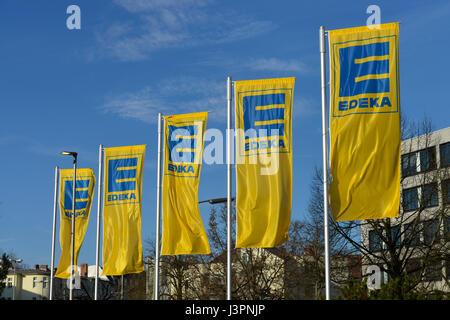 Edeka, Wiesbadener Strasse, Schmargendorf, Wilmersdorf, Berlin, Deutschland - Stock Photo