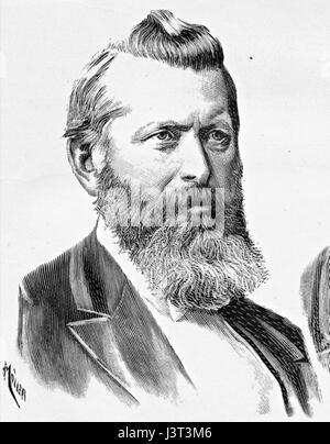 Johannes W Chr Steen 1891 - Stock Photo