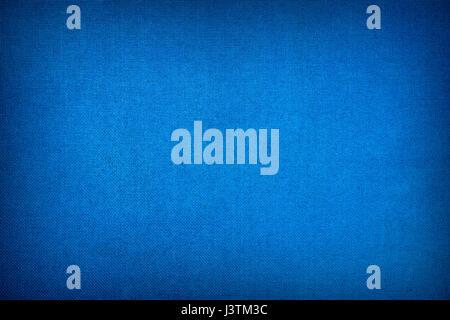 Dark blue canvas texture - Stock Photo