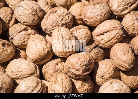 Walnuts - Close-Up - Stock Photo