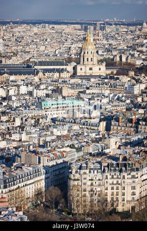 L'hotel national des Invalides. Paris. France - Stock Photo