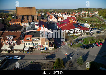 St. Nicholas Church in Old Town of Frombork, Poland 1 May 2017 © Wojciech Strozyk / Alamy Stock Photo - Stock Photo