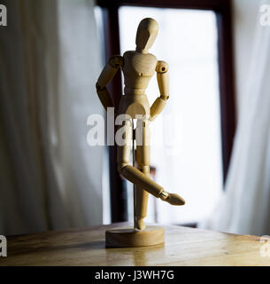An artist's mannequin (lay figure). - Stock Photo