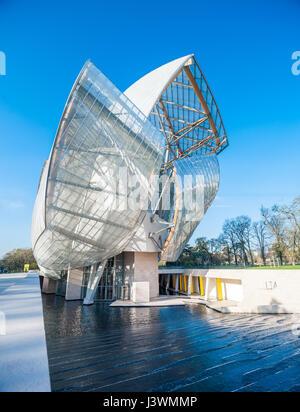 France, Paris, Fondation Louis Vuitton - Stock Photo