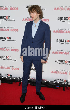 The 'American Gods' - UK TV Premiere held at One Marylebone - Arrivals Featuring: Bruce Langley Where: London, United - Stock Photo
