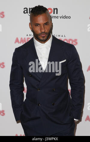 The 'American Gods' - UK TV Premiere held at One Marylebone - Arrivals Featuring: Ricky Whittle Where: London, United - Stock Photo