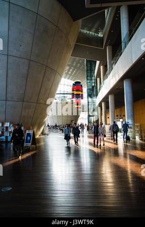 The National Art Center Interior, Tokyo - Stock Photo