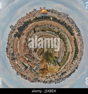 Jerusalem small planet - Stock Photo
