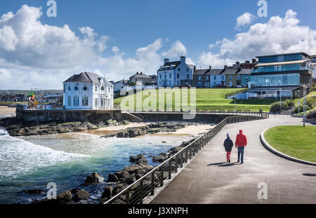 Portrush, County Antrim Northern Ireland - Stock Photo
