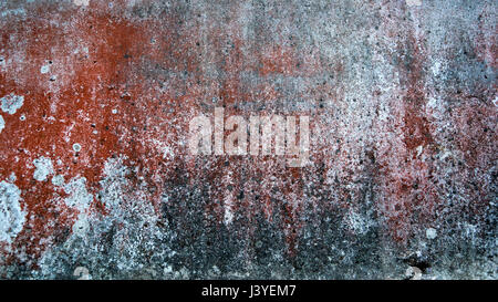 abstract background and texture of rust, brown, red mixed with white and gray spots. - Stock Photo